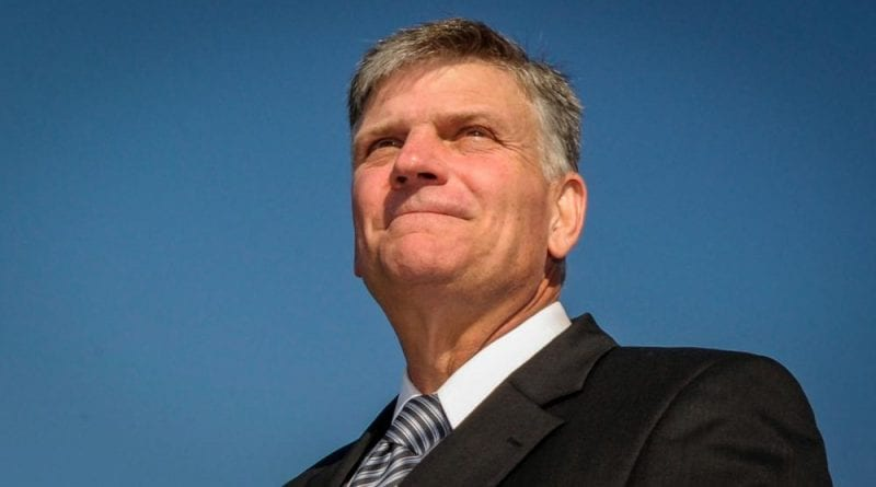 Evangelist Franklin Graham Calls For Churches Across America to Pray For Peace During Protests