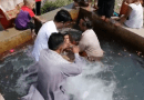 Water Baptism in a Muslim country