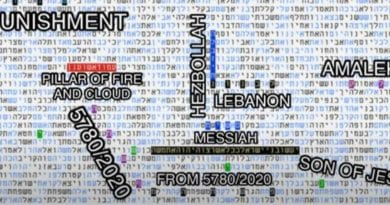 "Torah Codes: Beirut Explosion was ""Pillar of Fire and Smoke"" Protecting Israel – Breaking Israel News"