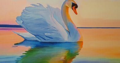 Swan. God. Yeshua. Yes.